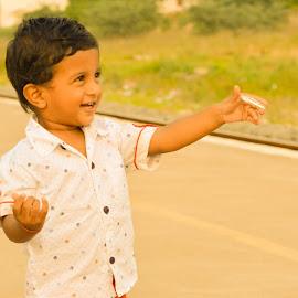 kid, child, boy, joy by Gopinath Selvam - Babies & Children Children Candids