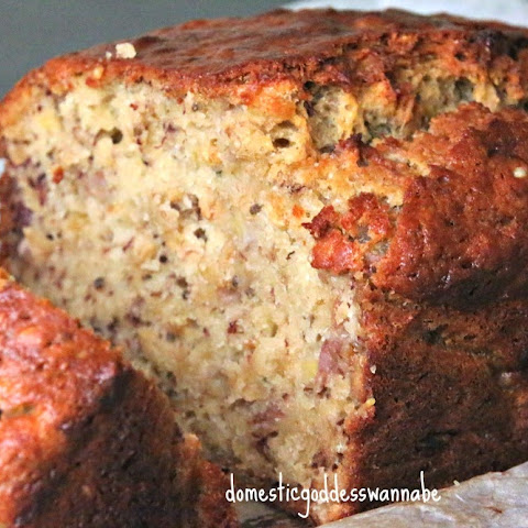 Banana Bread with Oats and Chia Seeds