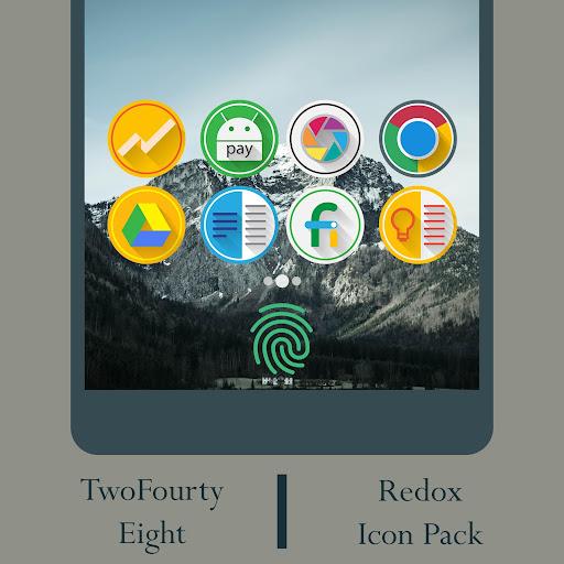 Redox - Icon Pack screenshot 3