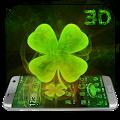 Lucky Clover 3D Theme for LG APK for Bluestacks