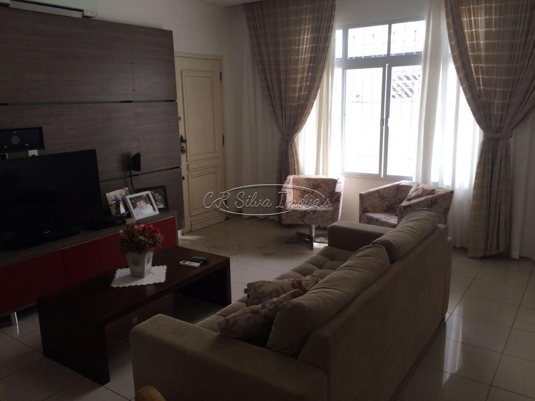 Sobrado com 3 dormitórios à venda, 129 m² por R$ 540.000,00 - Santa Maria - Santos/SP