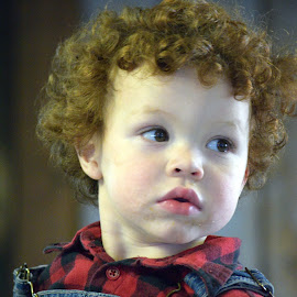 Little Red by Deborah Lucia - Babies & Children Children Candids ( child, red, hair )