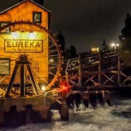 Eureka by Darren Sutherland - City,  Street & Park  Amusement Parks ( trip, disney )