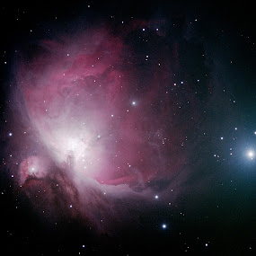 M42 Orion Nebula by Bill Schlosser - Landscapes Starscapes