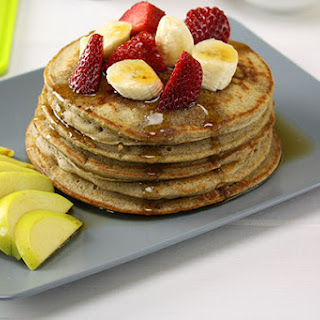 Buckwheat Pancakes with Fresh Fruit