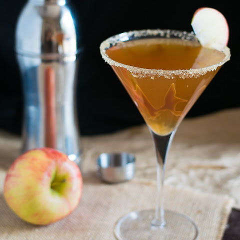 Caramel Apple Cider Martini