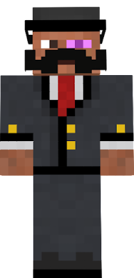 Zombie In A Suit Minecraft Skin