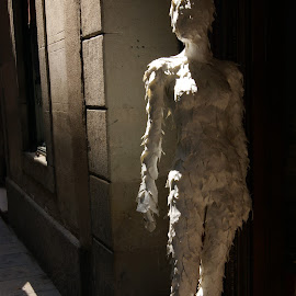 Shadows by Marie Mekosh - Artistic Objects Other Objects ( shadow, novices only, mannequin, light )