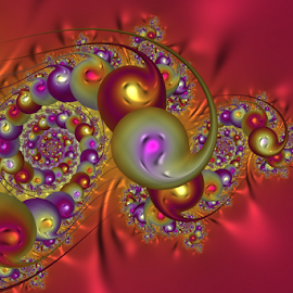 by Cassy 67 - Illustration Abstract & Patterns ( bubble, colorful, bright, wallpaper, digital art, bubbles, fractal, digital, fractals )