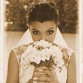 Bride by Eftime Gabriel - Wedding Bride ( woman, wedding, bride )