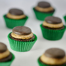 Quadruple Thin Mint Cupcakes