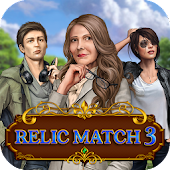 Game Relic Match 3: Jewel Mystery version 2015 APK