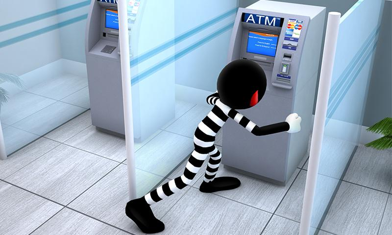 Stickman Bank Robbery Escape Screenshot 0