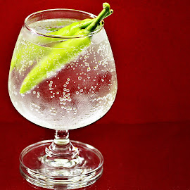 Pepper laced Drink by Prasanta Das - Food & Drink Alcohol & Drinks ( frost, pepper laced, cold drink )