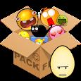 Emoticons pack, Egg color