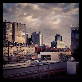 Hello Nashville! by Jennifer Durham - City,  Street & Park  Skylines