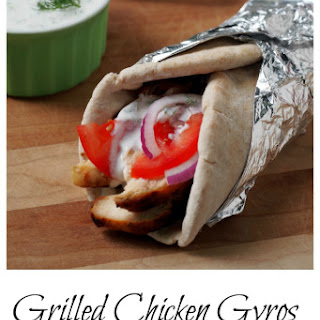 Grilled Chicken Gyros