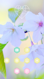 Flower Pose theme - screenshot