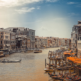 500px Photo ID: 136234139 by Dario Šebek - City,  Street & Park  Street Scenes ( building, europe, italia, street, veneto, venice, sea, architecture, travel, italy, city )