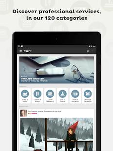 Download Fiverr - Freelance Services APK for Android Kitkat