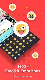 App GO Keyboard - Emoji, Sticker APK for Kindle