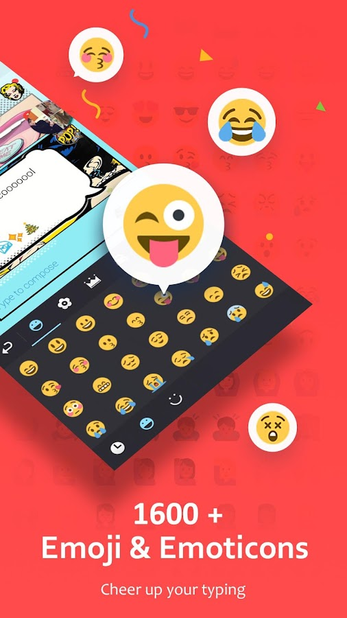 GO Keyboard - Emoji, Sticker Screenshot 0