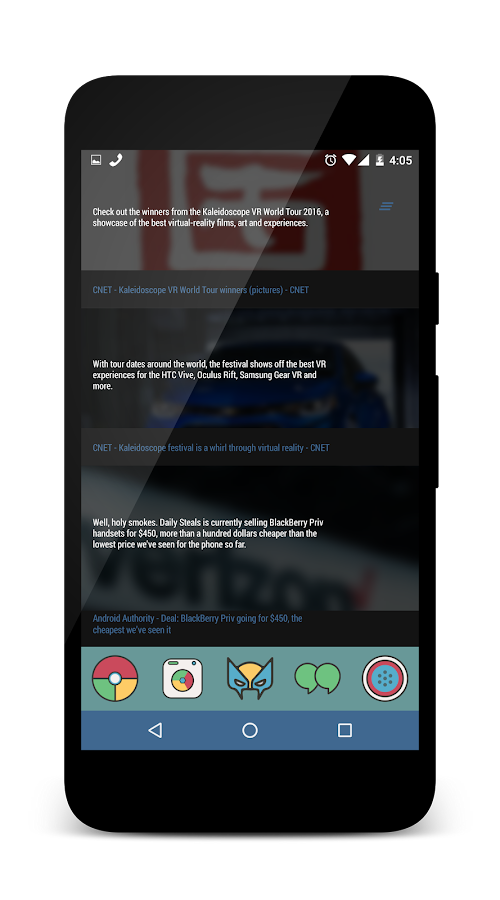 X5 for KLWP Screenshot 2