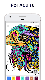 Paint by Numbers: New Coloring Pictures Book Free