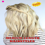 Medium Length Hairstyles APK Image