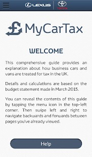 MyCarTax Guide - screenshot
