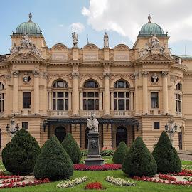 Krakow Theater Building by Ciddi Biri - Buildings & Architecture Other Exteriors ( mimari, polska, tiyatro, krakow, art, bina, theater, sanat, architecture, teatr, polonya, poland )