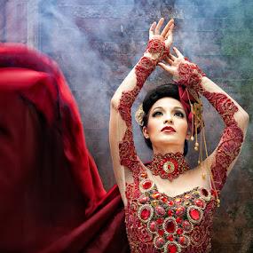 Lady in Red by Deddy  Heruwanto - People Fashion