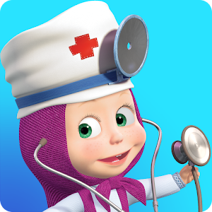 Cover art Masha Doctor: animal hospital