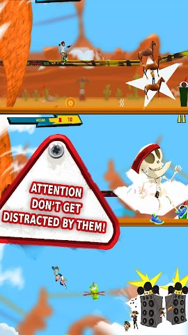 android RollerBlades Survivor Tornado Screenshot 9