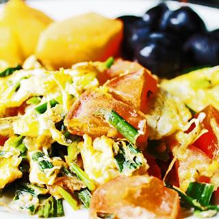 Egg Tomato And Onion Recipes