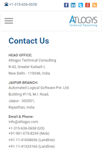 Atlogys Technical Consulting - screenshot