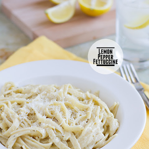 Lemon Pepper Fettuccine