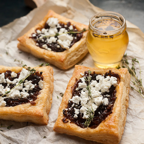 Caramelised Onion and Goats Cheese Tart