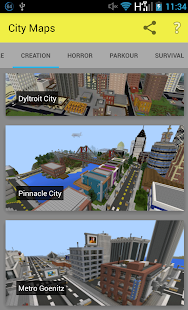 City Maps for Minecraft Pe