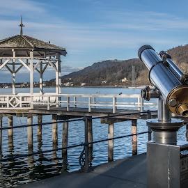Lake Constance Park on the shore by Linda Brueckmann - City,  Street & Park  City Parks