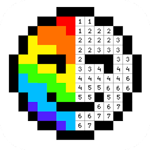 Pixel Artist: Color Number, Pixel Coloring Book For PC / Windows 7/8/10 / Mac – Free Download