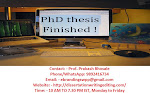 Professional PhD Thesis Writing Services in Bhopal