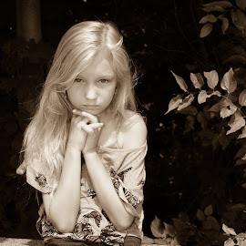 Leah by Frank DeChirico - Babies & Children Child Portraits