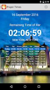 Prayer Times and Ears - Adhan - screenshot