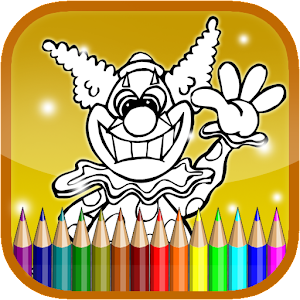 Coloring Killer Clown Craze