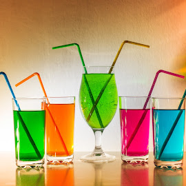 Colorful  by Suzana Trifkovic - Food & Drink Alcohol & Drinks ( colorful, drink, glass )