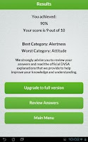 Screenshot of Theory Test UK Free 2015 DTS