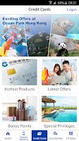 Screenshot of CCB (Asia) mobile app