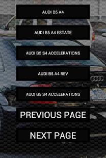 Engine sounds of B5 RS4 S4 A4 - screenshot