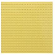 Пластина Baseplate для конструкторов, желтая
